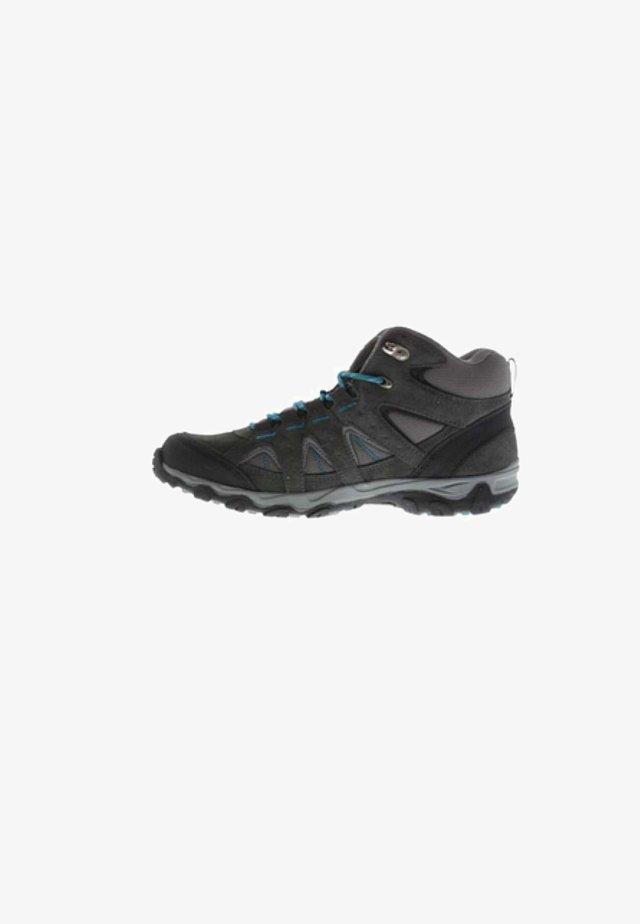 Hiking shoes - gray/petrol