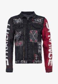 Cipo & Baxx - MIT NIETEN - Denim jacket - black - 7