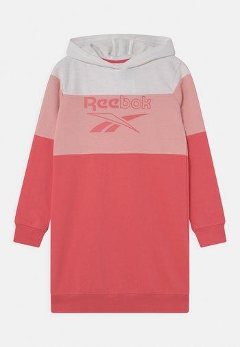 HOODIE DRESS - Vestito estivo - sunkist coral