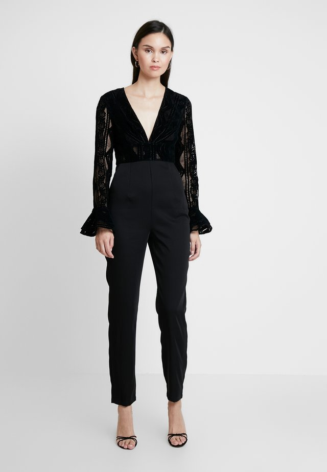 READ MY MIND - Tuta jumpsuit - black