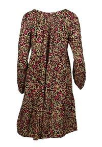 Zwillingsherz - Day dress - leo pink braun - 1