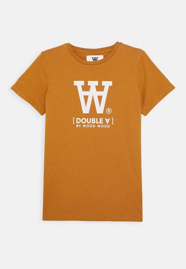 OLA KIDS - T-shirt imprimé - camel