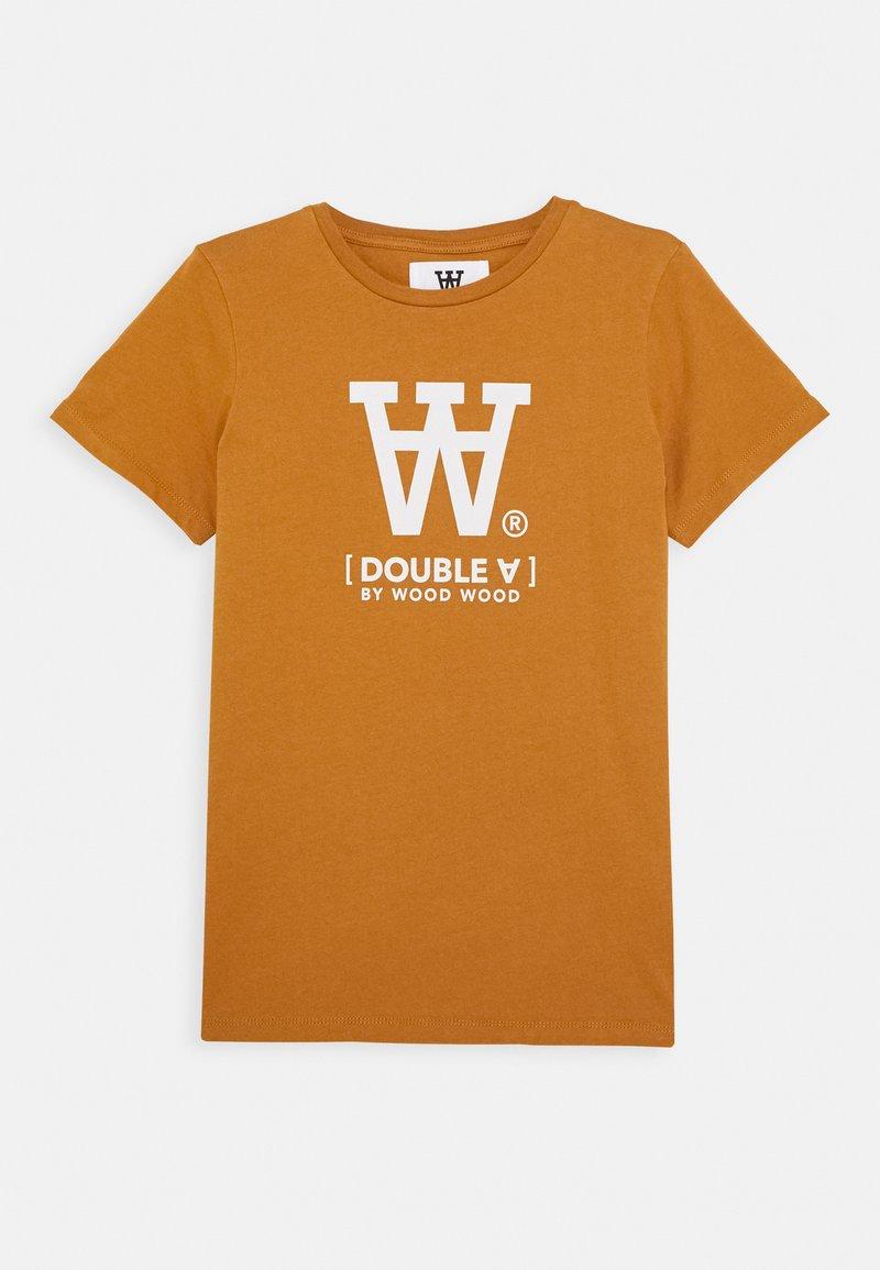 Wood Wood - OLA KIDS - T-shirts print - camel