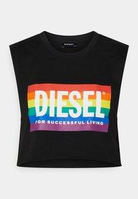 Diesel - BFOWT-MUSCLE-ROUNDIE-PR - Top - black - 0