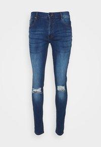 CLOSURE London - RIPPED SLIM FIT  - Slim fit jeans - blue - 5