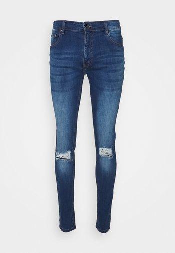 RIPPED SLIM FIT  - Jeans slim fit - blue