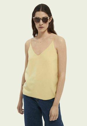 Top - sunshine yellow