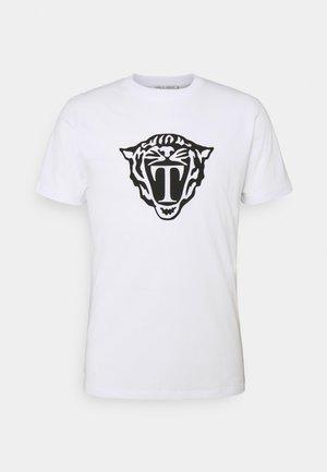 FLEEK - T-shirt med print - white