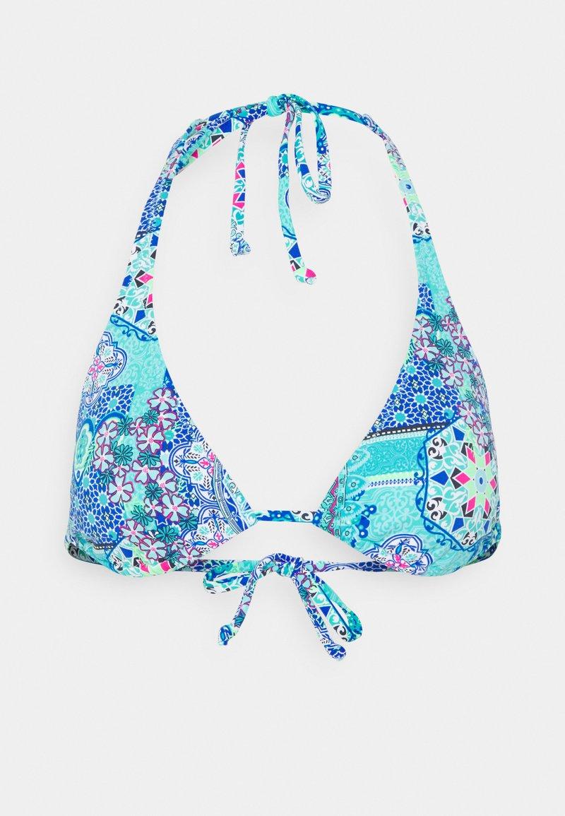 Buffalo - TRIANGLE - Bikini top - blue