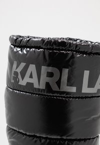 KARL LAGERFELD - QUEST BOOT - Vinterstøvler - black - 2