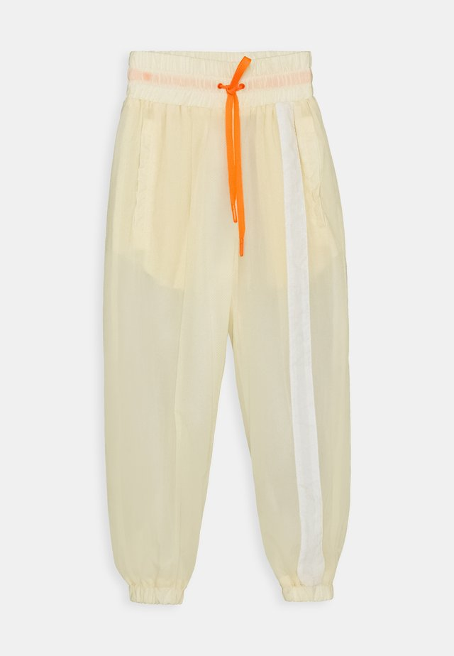 OLEEN - Tracksuit bottoms - ivory