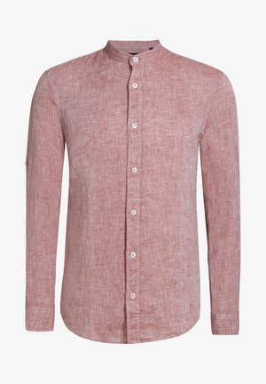 SLIM FIT - Shirt - terra cotta