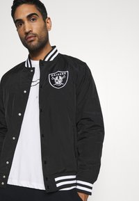 New Era - NFL LAS VEGAS RAIDERS NFL TEAM WORDMARK - Club wear - black - 3