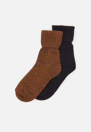WOMEN 2 PACK - Socks - toffee melange