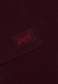 Superdry - LABEL - Scarf - cranberry grit - 1