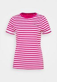 HUGO - THE SLIM TEE - Print T-shirt - bright pink - 6
