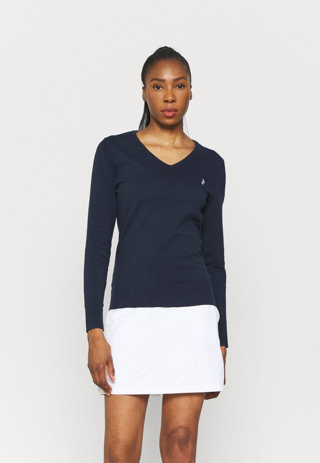 CLASSIC V NECK - Trui - blue shadow