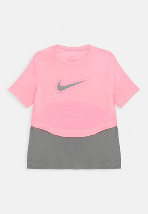 DRY TROPHY  - Print T-shirt - sunset pulse/smoke grey