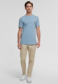 KARL LAGERFELD - IKONIK - Basic T-shirt - light blue - 1