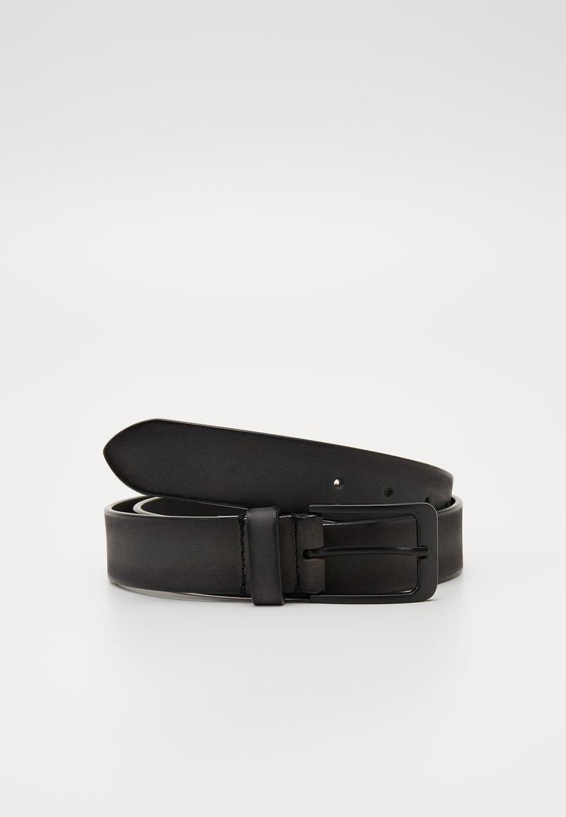 Zign - UNISEX LEATHER - Belte - dark grey