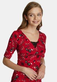 Vive Maria - Print T-shirt - rot allover - 3