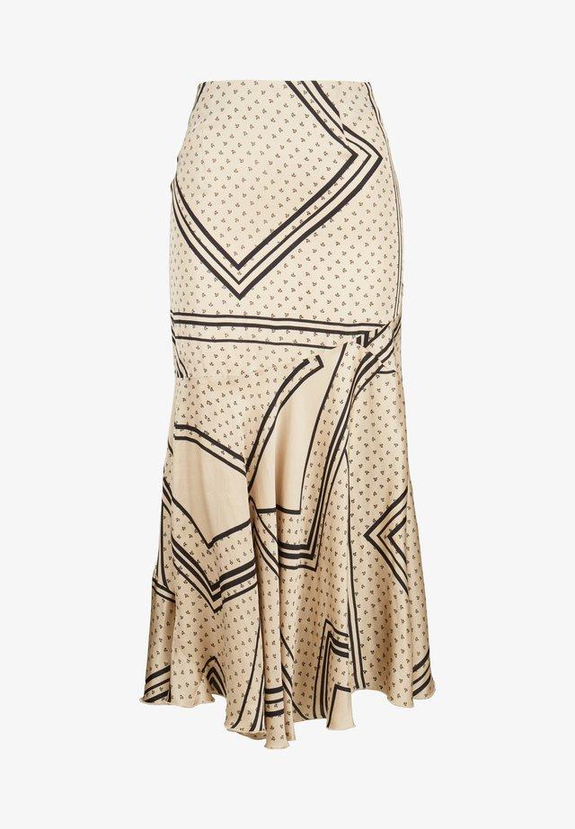 Pleated skirt - braun