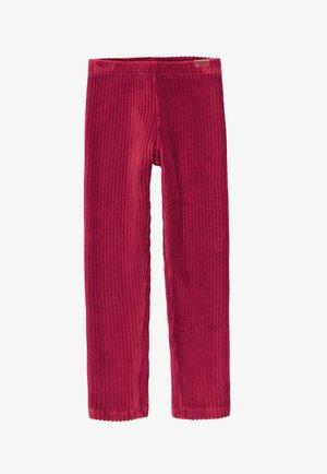 Leggings - Trousers - maroon