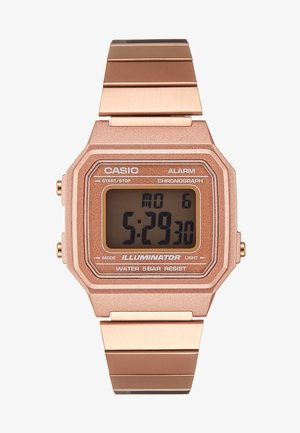 Digitalklokke - rose gold-coloured