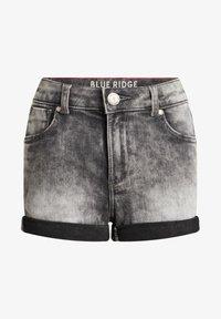 WE Fashion - SKINNY FIT  - Denim shorts - grey - 3