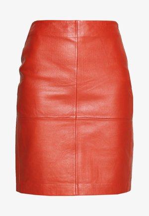 CECILIA - Pencil skirt - bruschetta