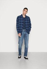 Jack & Jones - JJICLARK JJORIGINAL - Jeans a sigaretta - blue denim - 1