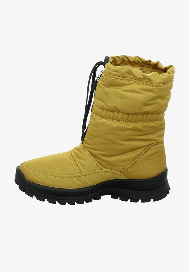 GRENOBLE - Winter boots - gelb