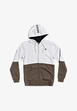 STUDLEY SHERPA - Zip-up hoodie - heather grey