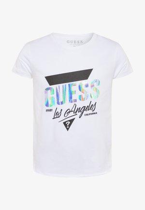 JUNIORHIGH LOW - Print T-shirt - blanc pur