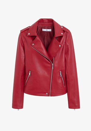 LIZ - Faux leather jacket - rot
