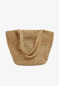 PULL&BEAR - Tote bag - sand - 0