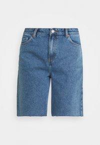 MEJA - Denim shorts - retro sky blue