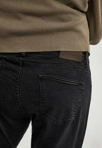 Massimo Dutti - Jean slim - black - 4