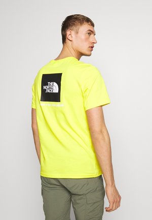 BOX TEE - Print T-shirt - lemon
