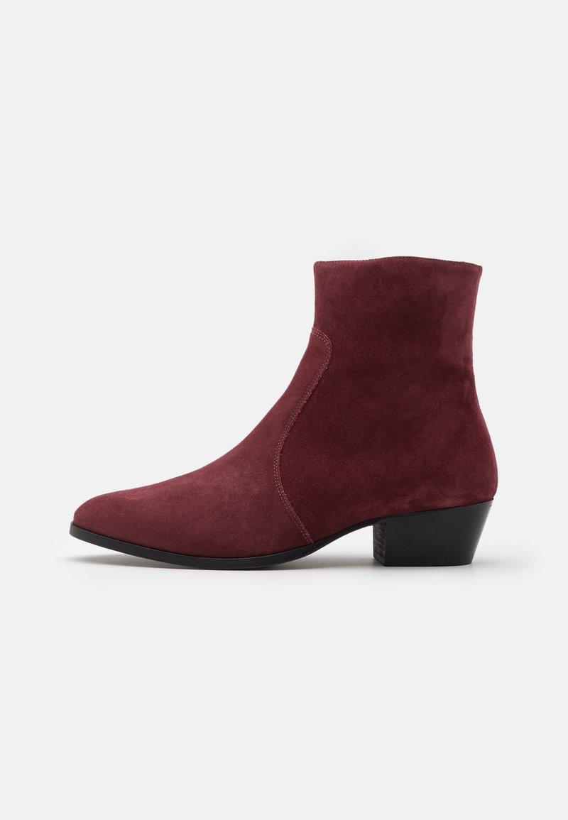 Everyday Hero - ZIMMERMAN ZIP BOOT - Classic ankle boots - burgundy