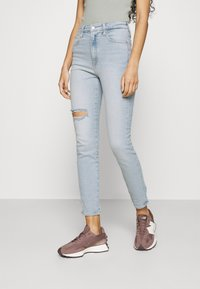 Calvin Klein Jeans - HIGH RISE ANKLE - Jeans Skinny Fit - blue - 0