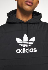 adidas Originals - HOODY UNISEX - Light jacket - black - 6