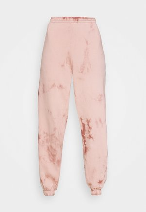 TIE DYE JOGGER - Tracksuit bottoms - pink