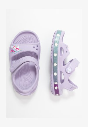UNICORN CHARM - Pool slides - lavender