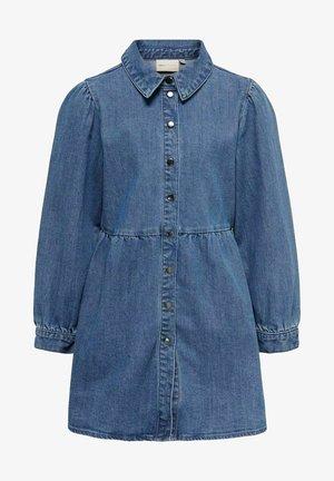 Denim dress - light medium blue denim