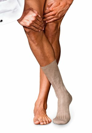 Socks - pebble melange
