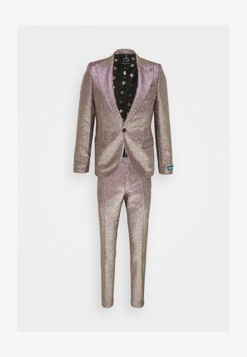 CHIC SUIT - Kostym - iridescent rose/gold