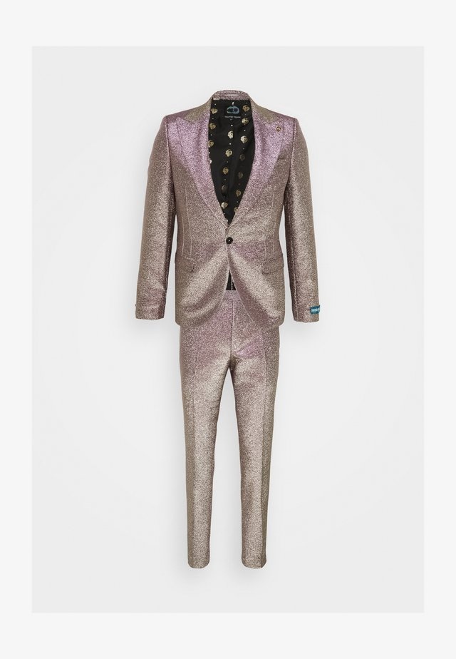 CHIC SUIT - Completo - iridescent rose/gold