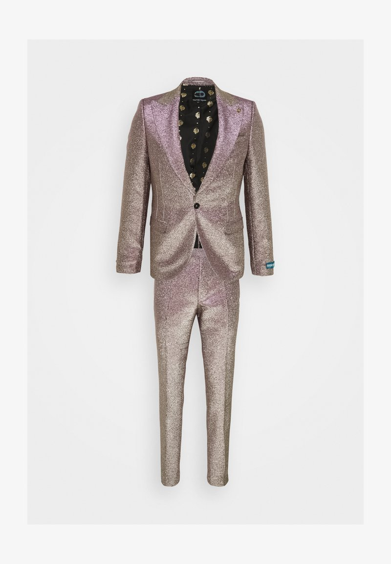 Twisted Tailor - CHIC SUIT - Kostym - iridescent rose/gold