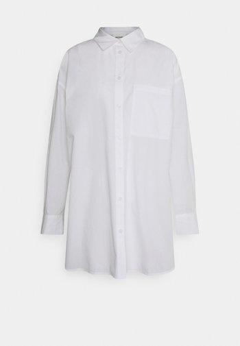 LINDY SHIRT - Skjortebluser - white light